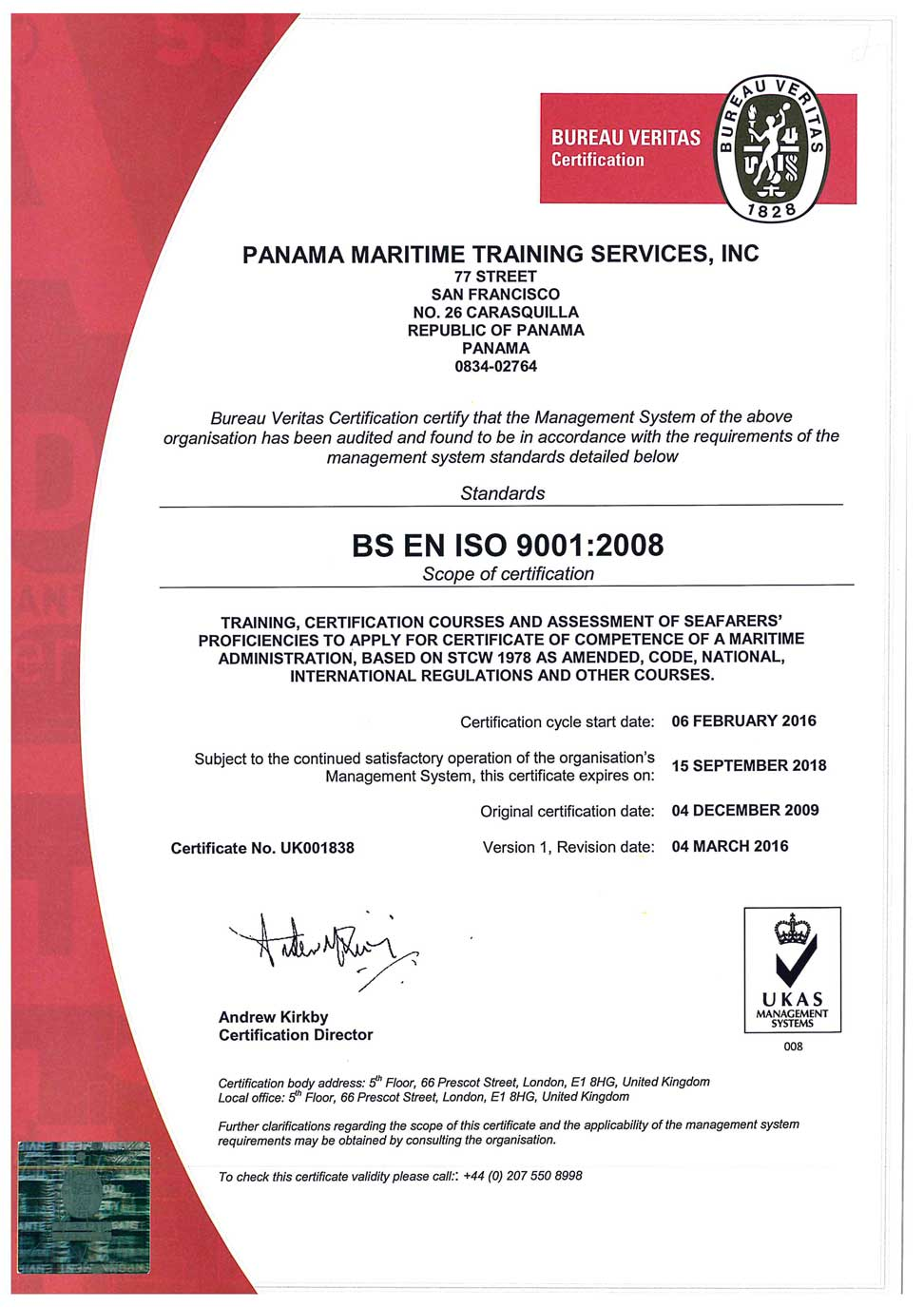pmts-bureau-veritas-2016-2017-certification